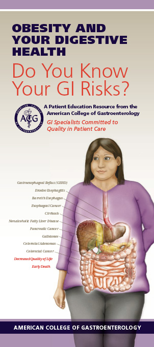 Obesity Patient Education Pamphlet [PDF] by the American College of Gastroenterology