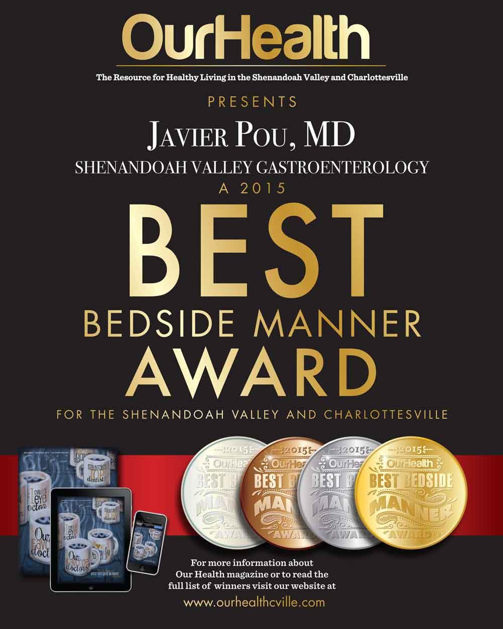bedside manner award